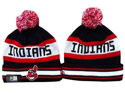 MLB Cleveland Indians Stitched Knit Beanies Hats 013