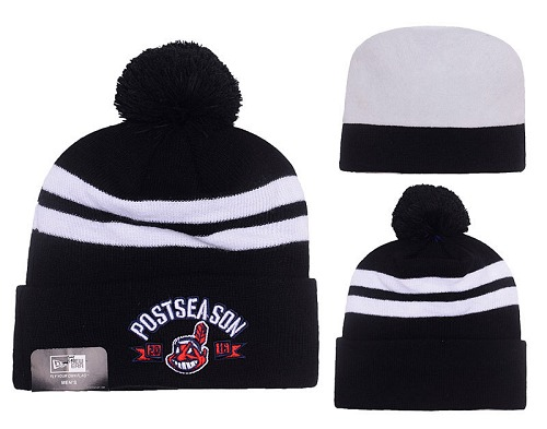 MLB Cleveland Indians Stitched Knit Beanies Hats 014