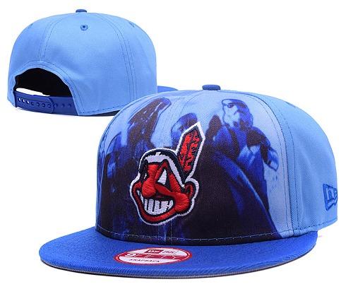 MLB Cleveland Indians Stitched Snapback Hats 002