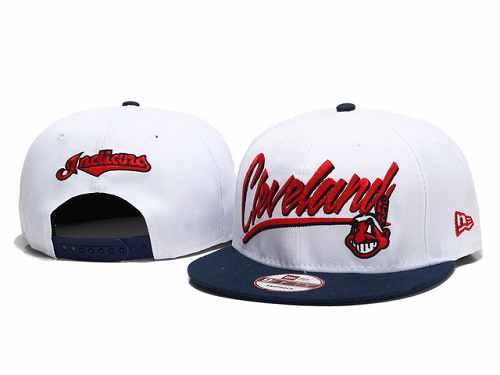 MLB Cleveland Indians Stitched Snapback Hats 004