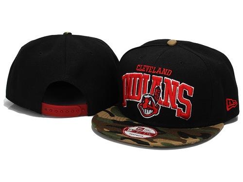 MLB Cleveland Indians Stitched Snapback Hats 005