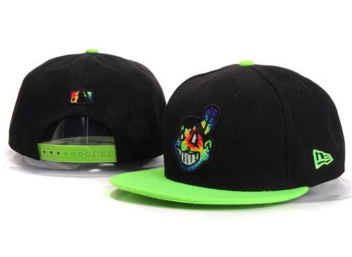 MLB Cleveland Indians Stitched Snapback Hats 007