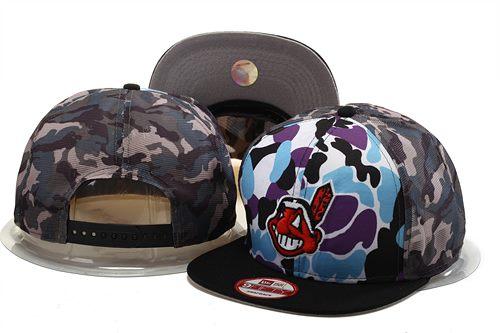 MLB Cleveland Indians Stitched Snapback Hats 008