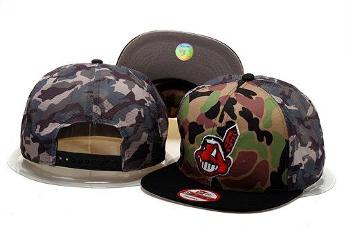 MLB Cleveland Indians Stitched Snapback Hats 009