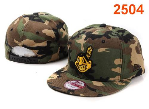 MLB Cleveland Indians Stitched Snapback Hats 012