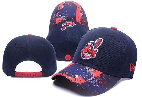 MLB Cleveland Indians Stitched Snapback Hats 019