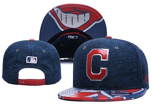 MLB Cleveland Indians Stitched Snapback Hats 020