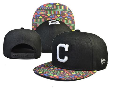 MLB Cleveland Indians Stitched Snapback Hats 022