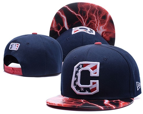 MLB Cleveland Indians Stitched Snapback Hats 023